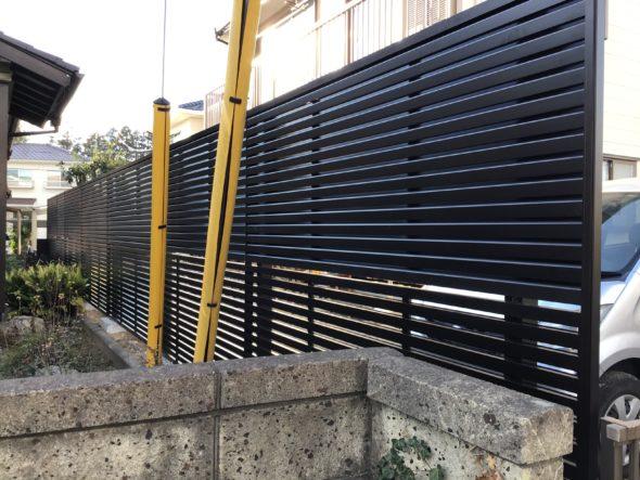 つくば市下広岡 戸建住宅 台風被害復旧 外構工事イメージ04