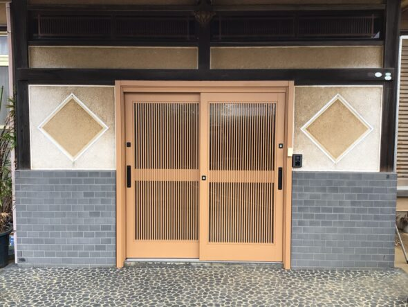 千葉県八千代市 戸建 玄関ドア交換 外装工事イメージ01