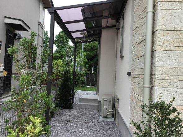 つくば市吾妻 戸建 フェンス・テラス 外構工事イメージ01