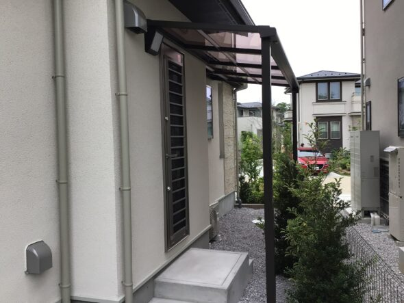 つくば市吾妻 戸建 フェンス・テラス 外構工事イメージ03