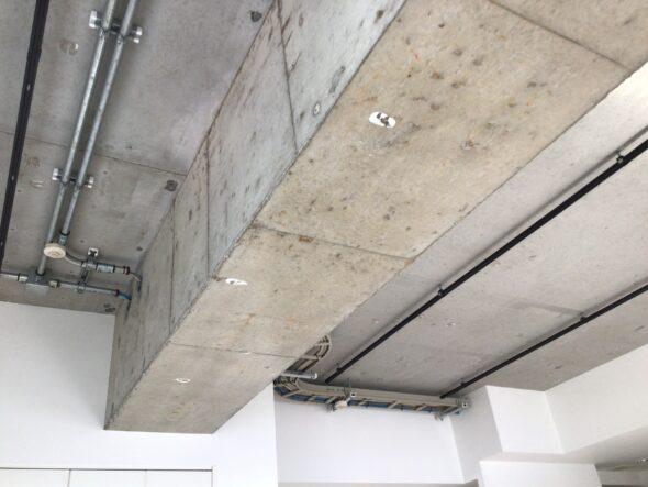 東京都 分譲マンション 天井スケルトン 内装工事 イメージ05