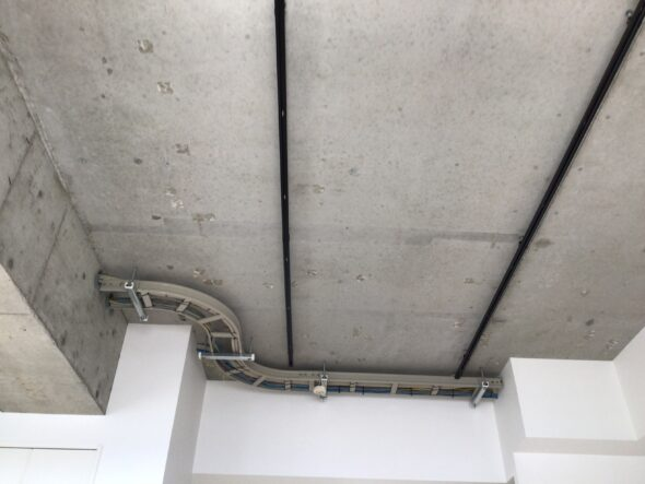 東京都 分譲マンション 天井スケルトン 内装工事 イメージ06