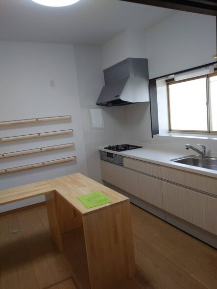 千葉県八千代市 戸建 キッチン改修 内装工事イメージ02