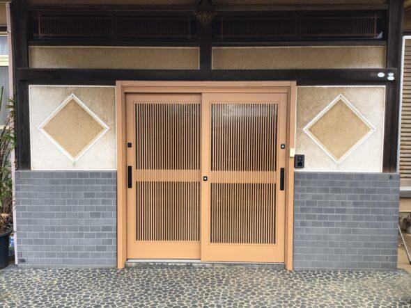 千葉県八千代市 戸建 玄関ドア交換 外装工事
